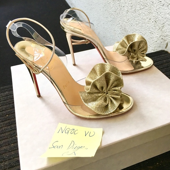 cb2963b3ad Christian Louboutin Shoes | Fossiliza Heels | Poshmark